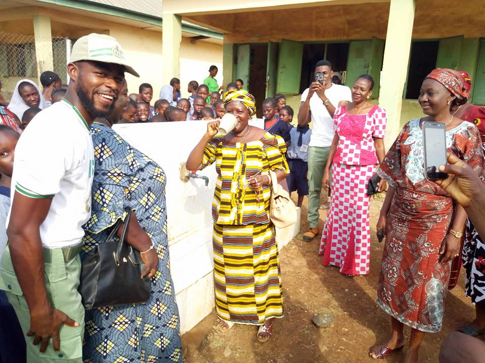 Supporting NYSC Corp members in Water Projects